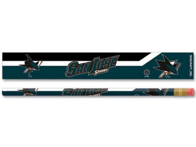 San Jose Sharks 6-pack Pencils
