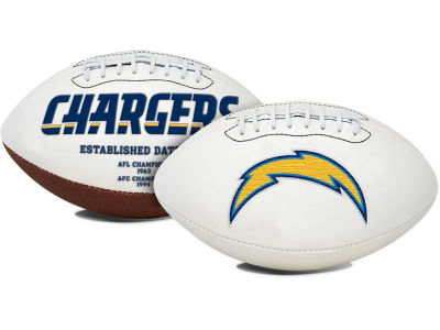 Los Angeles Chargers Signature Series Football