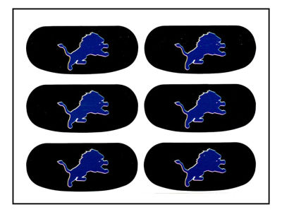 Detroit Lions Team Eyeblack Strips