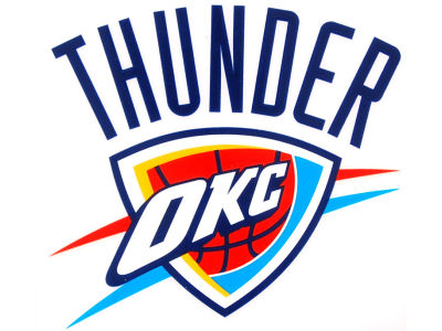 Oklahoma City Thunder Static Cling Decal