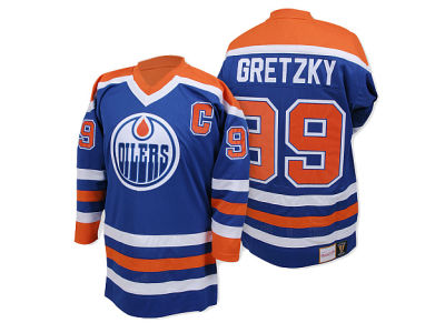 Edmonton Oilers Wayne Gretzky Mitchell and Ness NHL Authentic Jersey