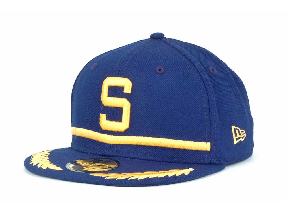 seattle pilots new era mlb cooperstown 59fifty cap