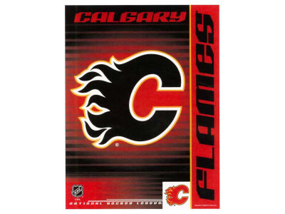 Calgary Flames 27X37 Vertical Flag