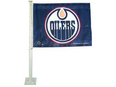 Edmonton Oilers Car Flag
