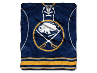 Buffalo Sabres 50x60in Plush Throw Jersey