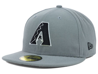 Arizona Diamondbacks New Era MLB Gray BW 59FIFTY Cap