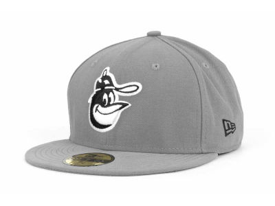 Baltimore Orioles New Era MLB Gray BW 59FIFTY Cap