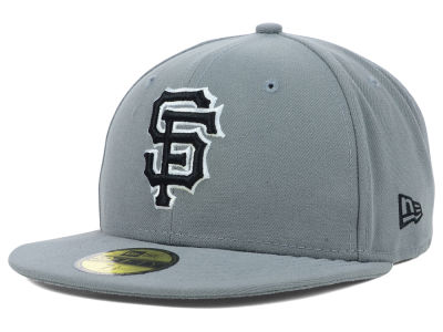 San Francisco Giants New Era MLB Gray BW 59FIFTY Cap