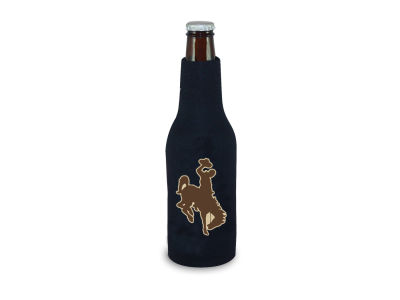 Wyoming Cowboys Bottle Coozie