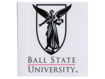 Ball State Cardinals Static Cling Decal