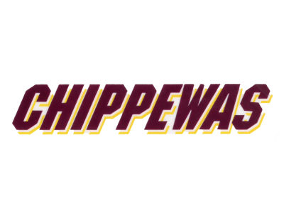Central Michigan Chippewas Static Cling Decal