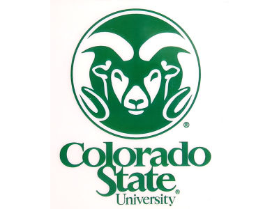 Colorado State Rams Static Cling Decal