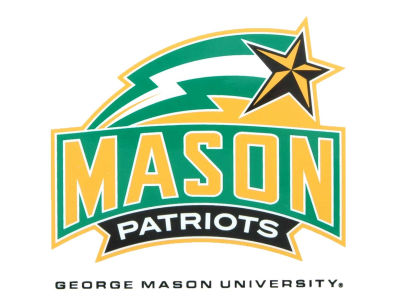 George Mason Patriots Static Cling Decal
