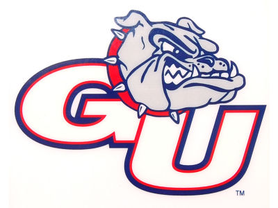 Gonzaga Bulldogs Static Cling Decal