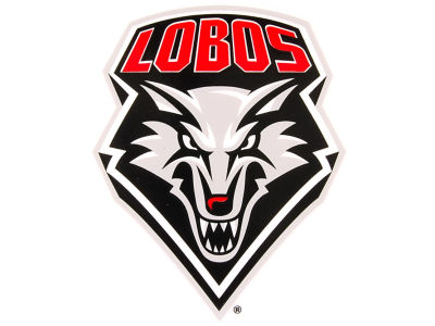New Mexico Lobos Static Cling Decal