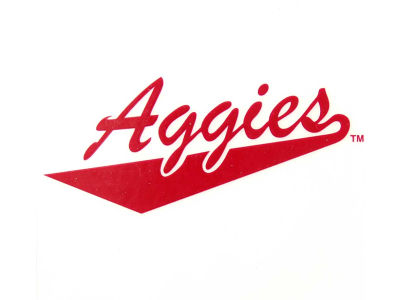 New Mexico State Aggies Static Cling Decal