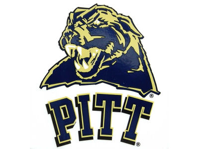 Pittsburgh Panthers Static Cling Decal