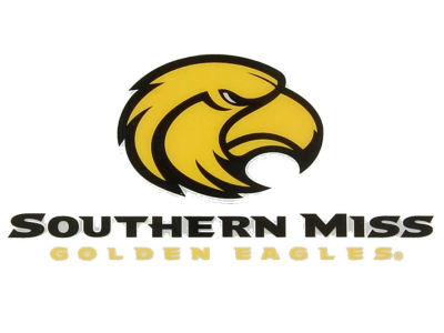 Southern Mississippi Golden Eagles Static Cling Decal