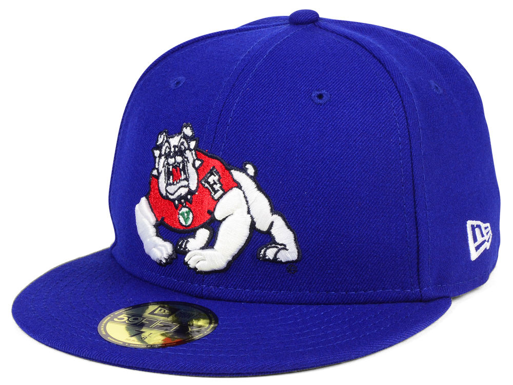 fresno state bulldogs new era ncaa ac 59fifty cap