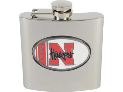 Nebraska Cornhuskers Hip Flask