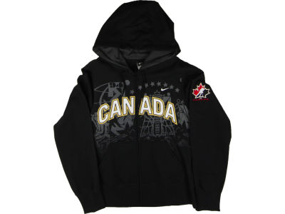 Canada Hockey Nike NHL Lined Full Zip Hoodie