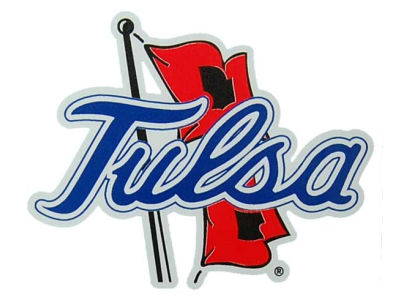 Tulsa Golden Hurricane Vinyl Decal