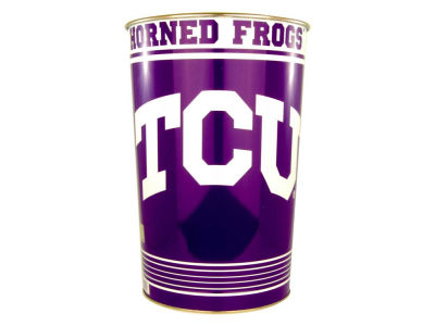 Texas Christian Horned Frogs Trashcan