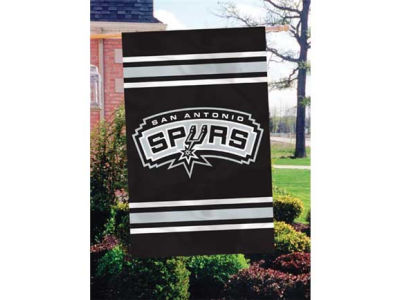 San Antonio Spurs Applique House Flag
