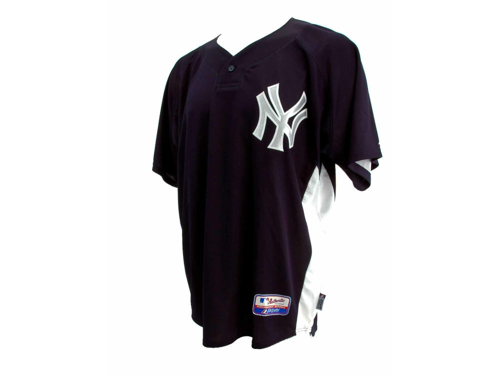 New York Yankees Derek Jeter Majestic MLB Men s Cool Base Batting Practice  Jersey  3efdf8990ca