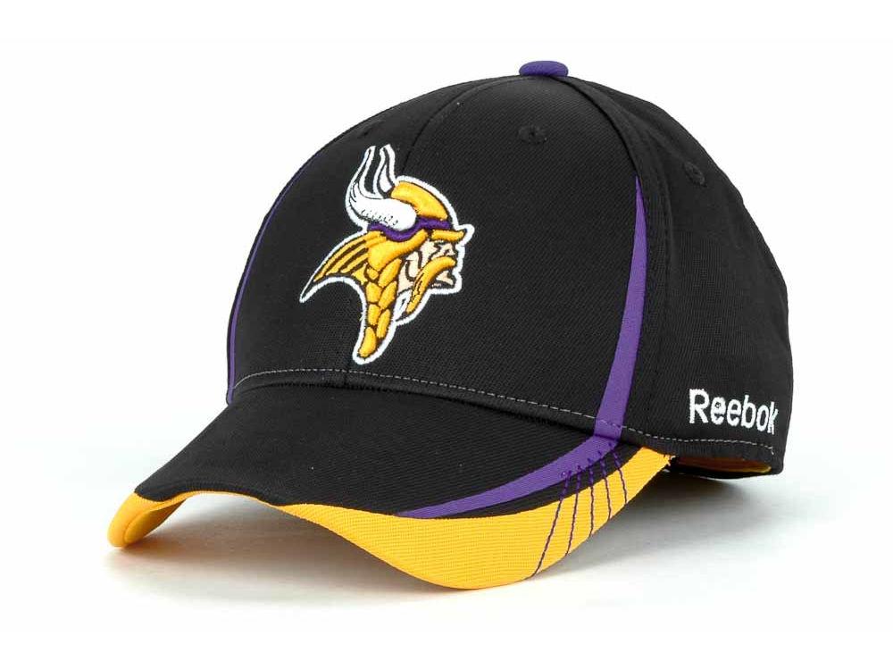 Minnesota Vikings Reebok NFL Draft Hat  38f9ba46a39