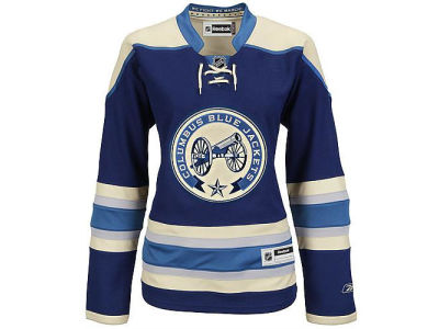 Columbus Blue Jackets Reebok NHL Women's Premier Player Jersey