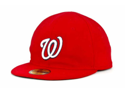 Washington Nationals New Era MLB Authentic Collection 59FIFTY Cap