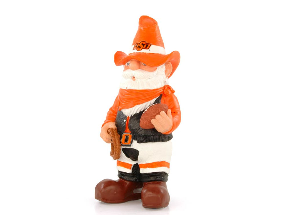 Oklahoma State Cowboys Team Thematic Gnome