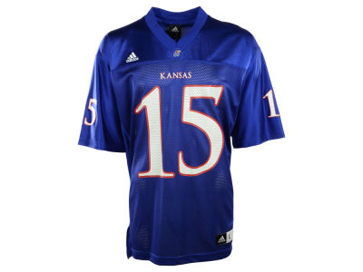 Kansas Jayhawks KU #15 adidas NCAA Replica Football Jersey