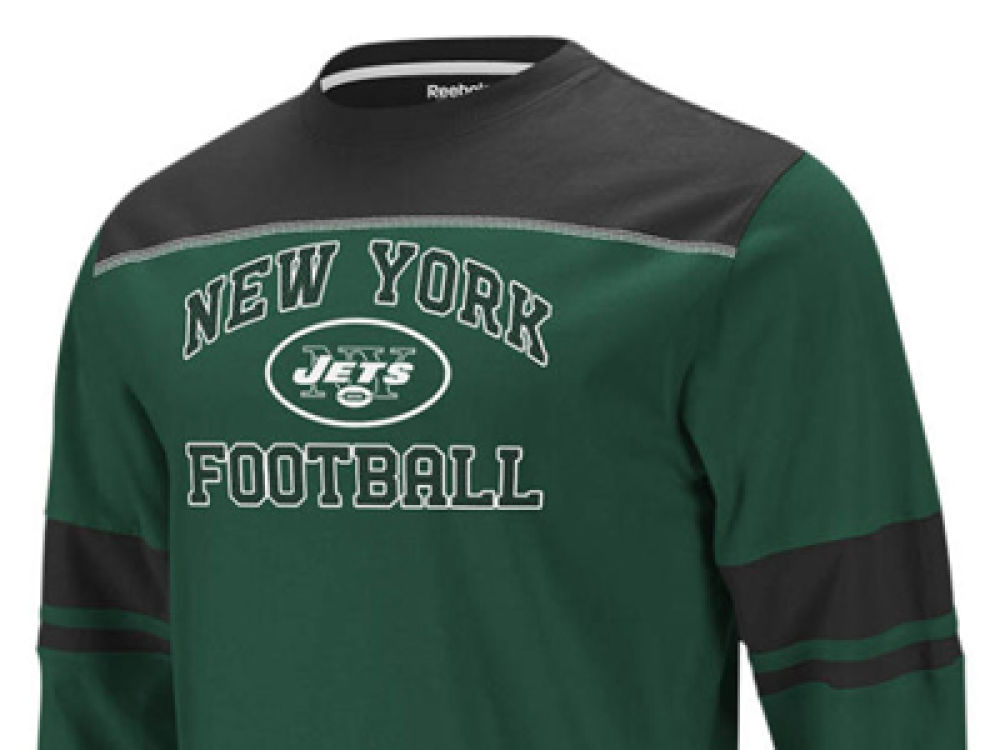 info for 75e3d 0e47b New York Jets NFL Kids Power Sweep Long Sleeve T-Shirt