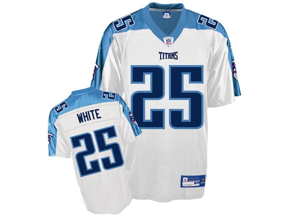 5840b924f4 Tennessee Titans LenDale White Reebok NFL Replica Jersey