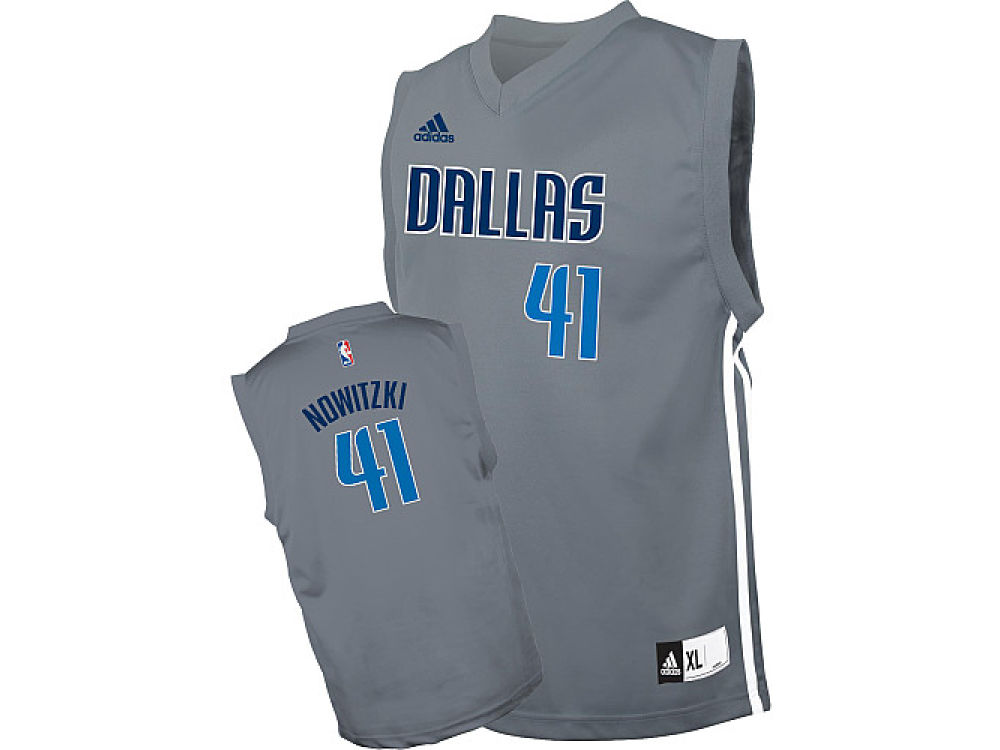 sale retailer 9f695 75703 Dallas Mavericks Dirk Nowitzki adidas NBA Revolution 30 Swingman Jersey