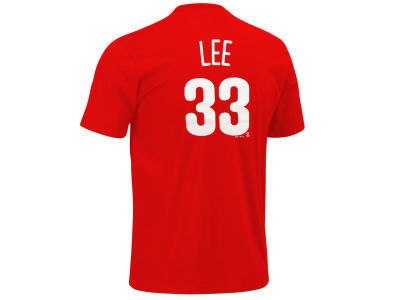 Philadelphia Phillies Cliff Lee Majestic MLB Youth Player T-Shirt