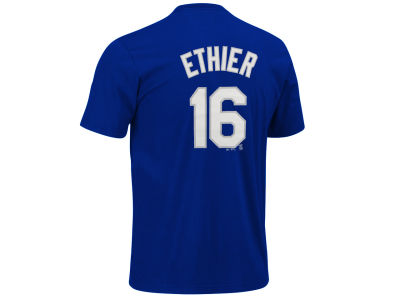Los Angeles Dodgers Andre Ethier Majestic MLB Youth Player T-Shirt