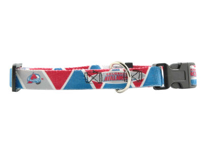 Colorado Avalanche Medium Dog Collar