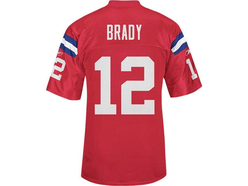 New England Patriots Tom Brady Reebok NFL Premier Jersey  6b0e6066e