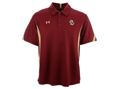 Boston College Eagles NCAA UA Sideline Coaches Polo