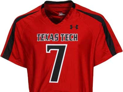 Texas Tech Red Raiders # 7 NCAA Replica Football Jersey