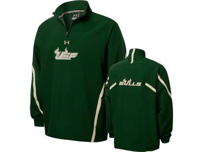 South Florida Bulls NCAA UA Sideline 1/4 Zip Jacket