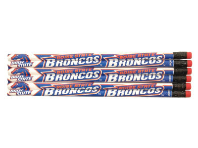 Boise State Broncos 6-pack Pencils
