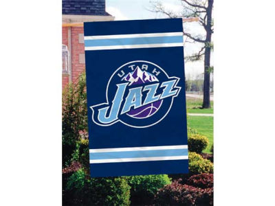 Utah Jazz Applique House Flag