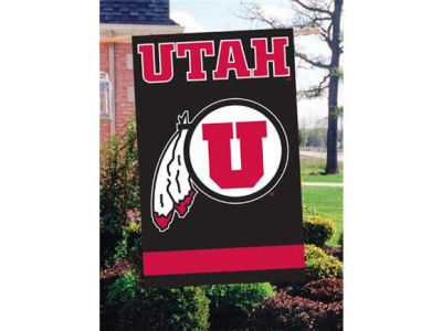 Utah Utes Applique House Flag