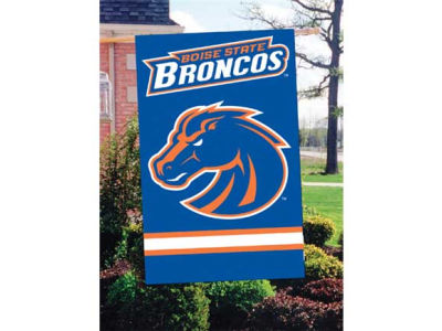 Boise State Broncos Applique House Flag