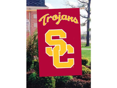 USC Trojans Applique House Flag