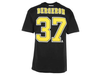 Boston Bruins Patrice Bergeron Reebok NHL CN Player T-Shirt